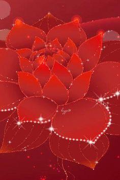 Необычный цветок - анимация на телефон №1252019