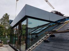 Loft Conversion Bedroom, Dormer Loft Conversion, Loft Conversions, Loft Design, House Design, Rooftop Terrace Design, House Extension Design, Roof Extension, Shed Dormer