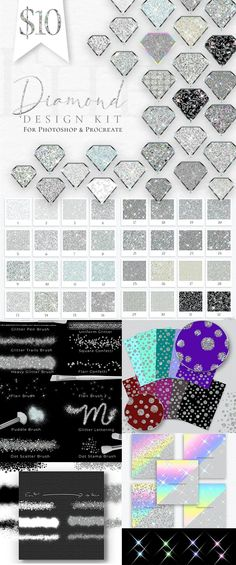 Diamond Design Kit - PrettyWebz Media Business Templates