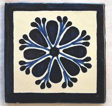 12  Ceramic TILES MEXICAN Talavera TILE Handmade  C059