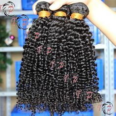 Kinky curl natural color hair weave, hair extension, hair weaving. Color, length, texture can be customized