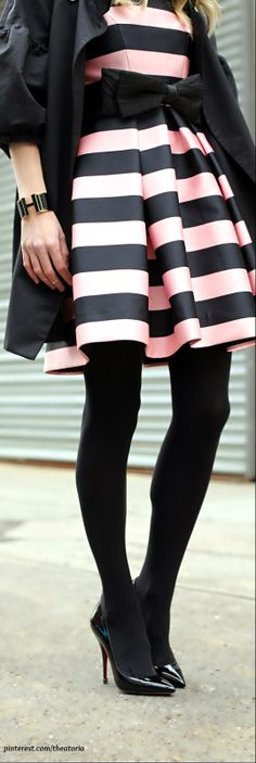 Stripes LBV.. I have this in black and white super cute dress.