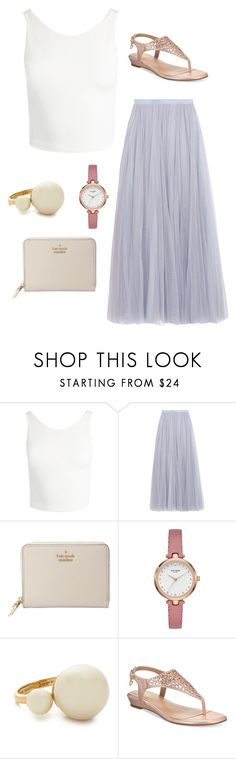 """Date Night"" by volleyball-013 on Polyvore featuring Sans Souci, Needle & Thread, Kate Spade and Thalia Sodi"
