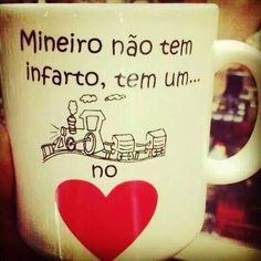 """Mineiro não tem infarto, tem um """"trem"""" no coração ❤"""