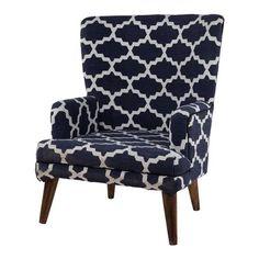 ACHICA | Woven Chair, Skipper Blue