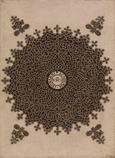 magpiemouse:    Leonardo da Vinci, Knot Pattern, 1495