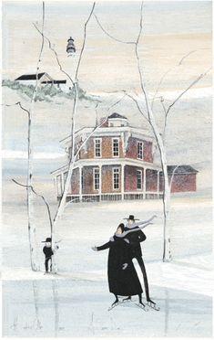 A Snowy Day, P. Buckley Moss