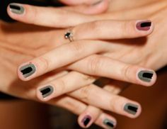 Finally, a nail look that combines my love of manicures with my love of Mark Rothko. Via Glamour.com