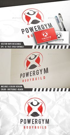 Fitness Health Logo — Vector EPS #professional #club • Available here → https://graphicriver.net/item/fitness-health-logo/12149065?ref=pxcr