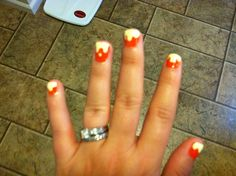 Paint drip nails for the UT game