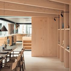 """Dinesen on Instagram: """"The private dining room at @nomacph — with all surfaces beautifully covered in Douglas. The trusted partnership between noma and Dinesen…"""" Halfway House, Private Dining Room, Awards, Restaurant, Cover, Furniture, Instagram, Design, Home Decor"""