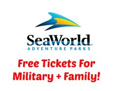 Free U0026 Discounted Tickets To SeaWorld Parks (SeaWorld, Busch Gardens U0026  More) For