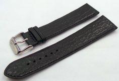Denissov Leather Strap 23mm Black-Den.23.L.S.Bk