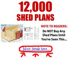 visit my site for a free shed plan
