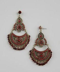 Take a look at this Red Moroccan Earrings by Treska on #zulily today - if link no longer connects, try searching internet sources using item and/or manufacturer