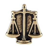 The Scales of Justice represent fairness and equality. Justice Scale, South Hill Designs, Decorative Bells, 18k Gold, Jewelry, Jewlery, Jewels, Jewerly, Jewelery