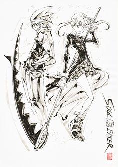 Maka & Soul · Soul Eater