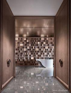 YANG Design Group Hotel Lobby, Photo Wall, Bathtub, Interior Design, Frame, Golden Eagle, Nanjing, Home Decor, Group