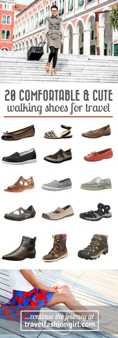 20 Comfortable And Cute Walking Shoes For Travel 2018