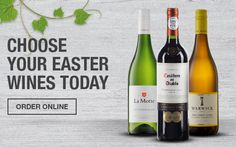 Choose Your Easter Wines Today to pair with your family secret Easter inspired dishes  Checker's Online: http://www.checkers.co.za/Wine.html