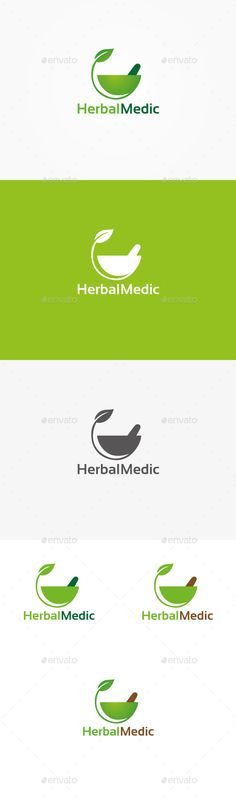 Herbal Pharmacy - Logo Design Template Vector #logotype Download it here: http://graphicriver.net/item/herbal-pharmacy-logo/9913065?s_rank=1477?ref=nesto