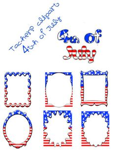 4th of july themed titles