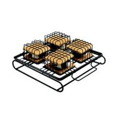 The S'More To Love S'More maker by Cuisinart offers you a fast, easy way to make that delicious marshmallow, chocolate and graham cracker treat right in your oven, toaster oven or on your grill. No more dirty campfires and burnt marshmallows - this innovative treat-maker allows you to make 4 tasty S'mores in just minutes. Sweet creamy marshmallow, crunchy toasted Graham Crackers... $11