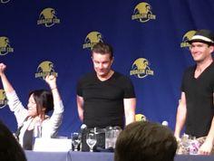 Gareth, James & Naoko