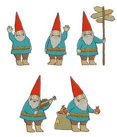 Christmas dwarfs by Eya Mordyakova