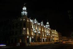 Gran Teatro de La Habana, Instalación de Luminarias_6
