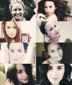 Demi Lovato without makeup...still gorgeous