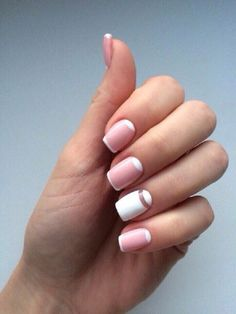 Stay simple yet stylish this summer with this nail art design. The white and nude colored nail polishes fit perfectly with each other. They give a fresher look to your hands perfect for the summer!