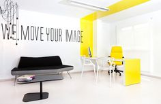 New York office interior of the Spanish company CuteDecision