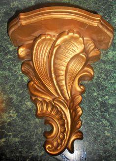 Vintage Ornate Gold Tone Shelf by TrendyCharm on Etsy, $12.00