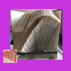 Book Folding Pattern  Saxophone  314 Folds   Measure by CraftyHana