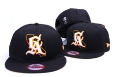 164fa02d6ec New Era Snapback Hat - Sullen Cali Golden Blk Orange