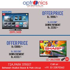 Get unique level of electronic products from us. Venue: 72A, PARK STREET (Between Mullick Bazaar & Park Circus) Or Call Us at: +91 3322870362