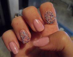 mua nail constellations - budget caviar manicure!