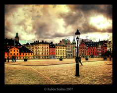 """Stockholm, one day I will say, """"Hey! I have been there before!"""" some day..."""