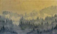 Oil & Encaustic On Wood  By etté studios  Bridgette Meinhold