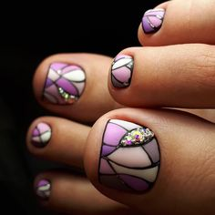 Luxury Nails – Great Make Up Ideas Toe Designs, Pedicure Designs, Pedicure Nail Art, Diy Nail Designs, Toe Nail Art, Nail Manicure, Acrylic Nails, Sparkle Nails, Bling Nails