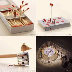 Fotografias em Miniatura – Conheça o trabalho de Tatsuya Tanaka (Fotografia Profissional)