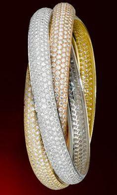 Bracelet Trinity de Cartier