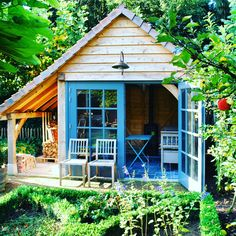 The perfect garden edition for many years to come with this gorgeous summer house. Roll on the weekend!!