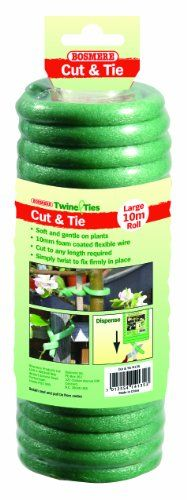 Garden Helpers H249 Cut and Tie Soft Foam Plant Tie for Tomatoes, Vegetables and Flowers Bosmere http://www.amazon.com/dp/B0078IF7CI/ref=cm_sw_r_pi_dp_OsoKwb1EG8BMS
