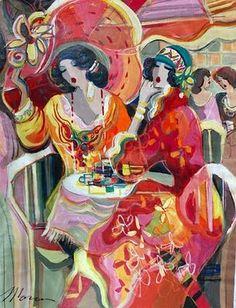 Women in Painting by Israeli Artist Isaac Maimon: