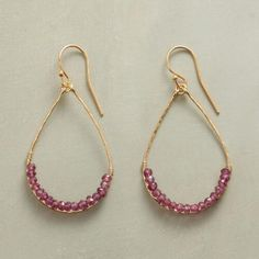 ARC OF SPARKLE EARRINGS: View 1