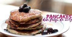 Pancakes din fulgi de ovaz: un dulce delicios si sanatos. Pancakes, Breakfast, Food, Sweets, Morning Coffee, Essen, Pancake, Meals, Yemek
