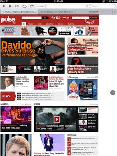 Pulse.ng is Nigeria's entertainment & lifestyle platform online dedicated to bringing you 24/7 non-stop entertainment across gist, movies, events, lifestyle, music and all there is to know about your favorite celebrities.  http://Mobogenie.com