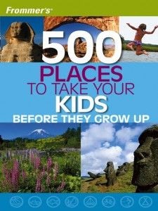 500 Places to Take Your Kids allows parents and kids to create a lifetime of memories while visiting destinations the whole family can enjoy. Here are cities, zoos, sports shrines, museums, castles, beaches, outdoor activities, and more 500 thoughtfully chosen places that will enchant and beguile both the young at heart.Each entry contains all the information families need to help plan a trip:age ratings, service SEE MORE: http://www.everythingkids.co/500-paces-to-travel-with-your-kids/